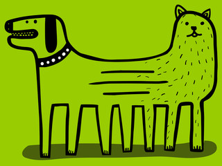 united dog and cat