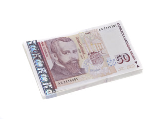 Pack of Bulgarian Bills