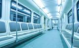Fototapete Bewegung - Moving - U-Bahn