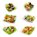 assorti of salads