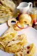 pfannkuchen und apfelmus