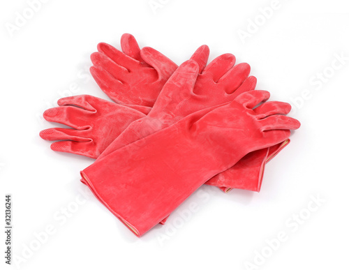 Two Pairs Industrial Gloves