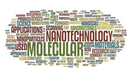 Nanotechnology words cloud