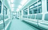 Fototapeta tranzytu - przewóz - Wnętrze