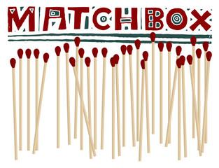 matchbox headline original woodcut