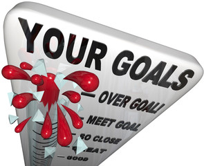 Your Goals Met and Surpassed - Thermometer Measurement