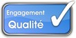 bouton engagement qualité