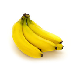 Bunch of Bananas Isolated