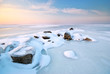 Stone on ice