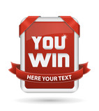 Tablet You Win_Red
