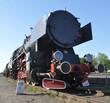 old steam train locomotive