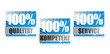 100% Qualität, 100% Service, 100% Kompetenz