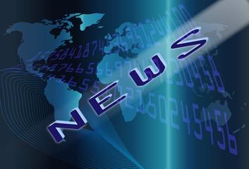 Fondo abstracto de noticias