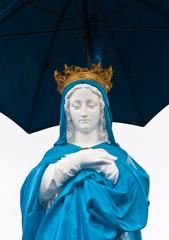 Vierge au Parasol, Piton Saint-Rose, île de la Réunion