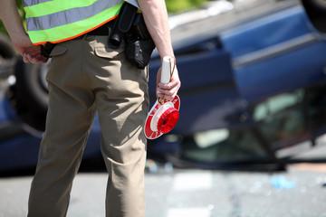 Unfall Polizei