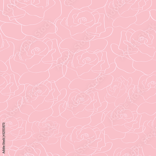 abstract seamless roses background.