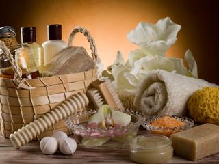 spa and bath concept