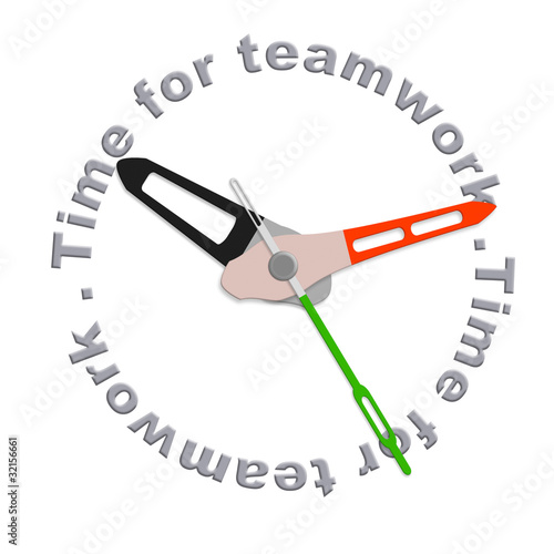 Time for teamwork