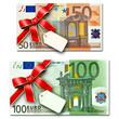 50 & 100 Euro Karte