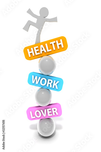 Balance Health Work Lover