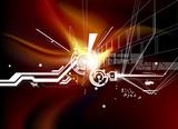 Fototapety digital background