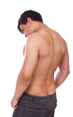 Sexy guy from behind