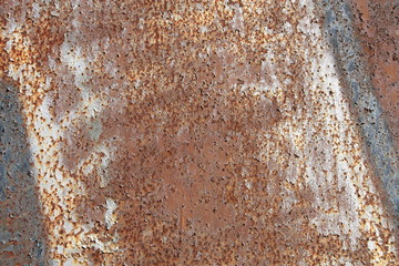 Background rust structure in various color.