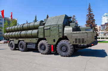 Russian anti-aircraft complex S-300