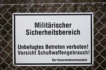 Militär - Bundeswehr - Zoll - Sicherheitsbereich military