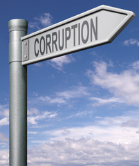 road to corruption
