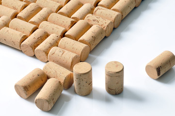 Background of new corks