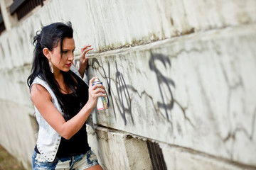 Drawing a graffiti