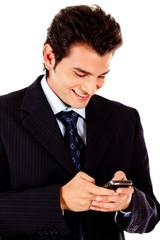 Business text message