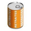 Boite de conserve - Retraites - Orange