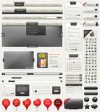 Vector Web Design Elements