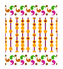 Pop art pattern background, seamless tiles