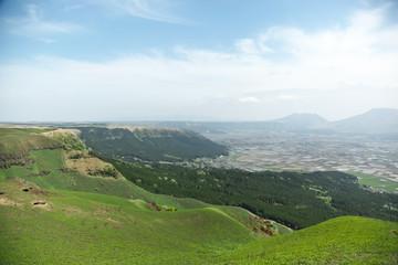 大観峰からの眺め