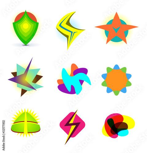 abstract logo symbols