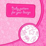 Pattern baby girl