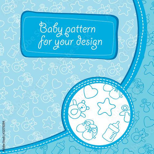 Pattern baby boy
