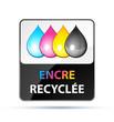 encre recyclée