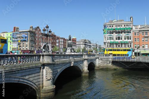 Poster O Connell Bridge Dublin