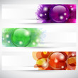 Banner con bottoni - Header with button's shapes