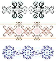 flower pattern ornament