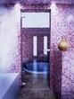 zona benessere sauna idromassaggio rendering relax corpo
