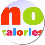 No calories poster