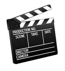 3d Film Klappe