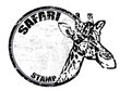 Safari stamp