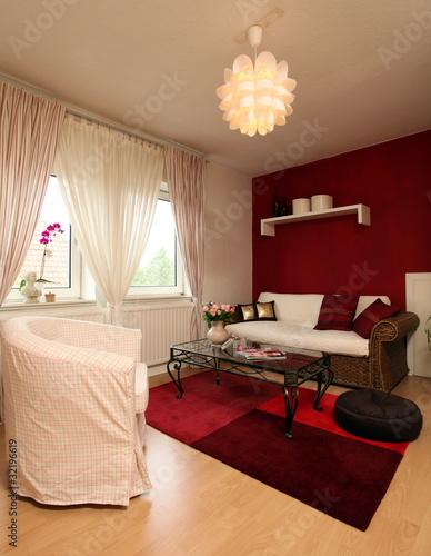 Wohnzimmer landhausstil von stefanfister lizenzfreies - Wohnzimmer weiay landhausstil ...
