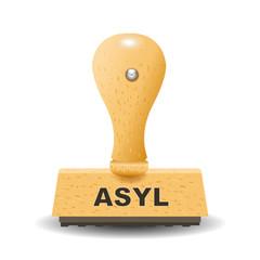 Asyl Stempel